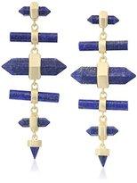 Kendra Scott Talia Gold Blue Lapis Earrings