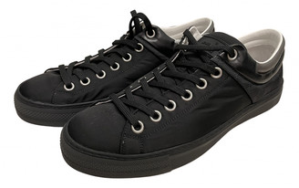 Louis Vuitton Frontrow Black Cloth Trainers