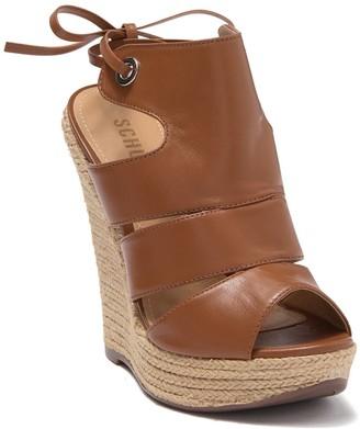 Schutz Ilione Espadrille Wedge Sandal
