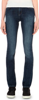 Armani Jeans Faded straight high-rise jeans