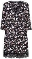 Claudie Pierlot Lace Trim Floral Dress