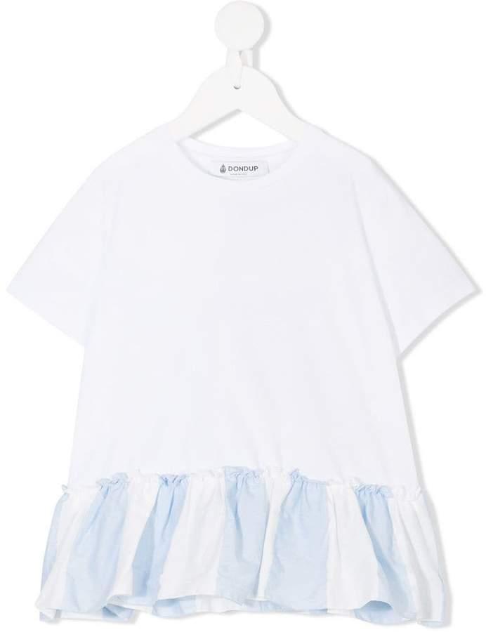 Dondup Kids ruffle-trimmed T-shirt