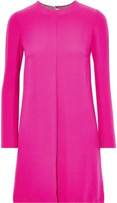 Valentino Layered Silk-crepe Mini Dress