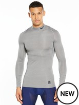 Nike Pro Compression Mock Long Sleeve Training Top
