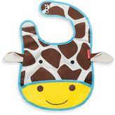 Bed Bath & Beyond SKIP*HOP® Zoo Tuck-Away Bibd in Giraffe