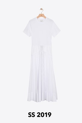 3.1 Phillip Lim T-Shirt Corset Dress