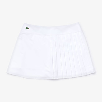 Lacoste Women's SPORT Asymmetrical Pleated Tennis Skirt