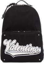 Valentino Black Garavani Varsity Backpack