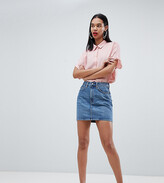 Thumbnail for your product : Weekday Wend Denim Mini Skirt