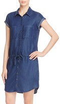 Paige Mila Denim Shirt Dress