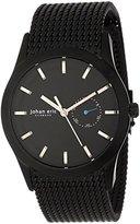 Johan Eric Men's JE1300-13-007 Agersø Ion-Plated Dial Date Mesh Bracelet Watch