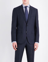 BOSS Birdseye slim-fit wool jacket