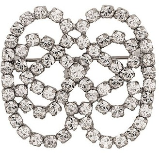 Christian Dior x Susan Caplan 1976 archive bow crystal brooch