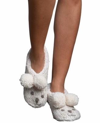 Lemon Women's Iceland Bear Bootie Slippers