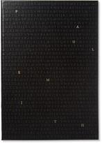 Paul Smith Alphabet Leather Notebook