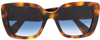 Moschino Oversized Frame Sunglasses
