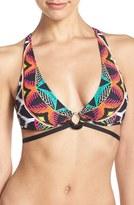 Trina Turk 'Africana' Cross Back Bikini Top