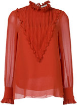 See by Chloe ruffle yoke blouse