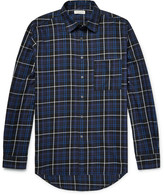 Public School - Trin Checked Brushed-cotton Twill Shirt