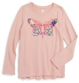 Tea Collection Toddler Girl's Jun Butterfly Graphic Tee