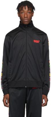 SSS World Corp Black Sponsors Track Jacket