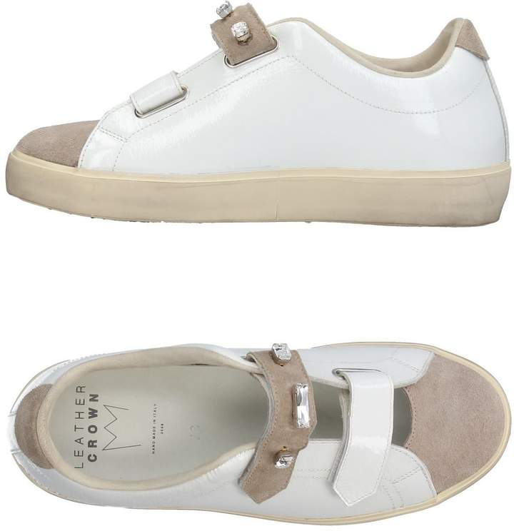 Leather Crown Low-tops & sneakers - Item 11380845UI