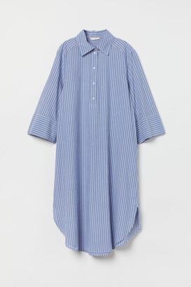 H&M Trumpet-sleeved shirt dress