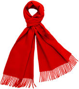 One Kings Lane Alpaca Wool Solid Scarf, Hermes