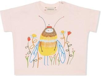 Gucci Kids Baby Ashley Percival print T-shirt