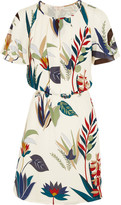 Tory Burch Anatolia Printed Silk-georgette Dress - White