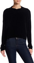 Cotton Emporium Mock Neck Crop Sweater