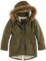 SO Girls 4-16 SO® Faux-Fur Lined Anorak Jacket