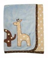 Lambs & Ivy Jake Minky Blanket