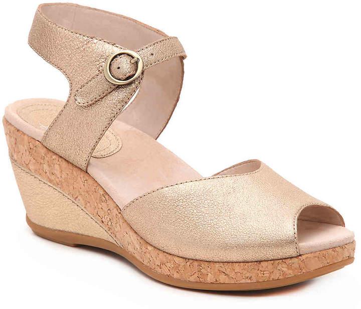d13829b915 Gold Cork Heel Women's Sandals - ShopStyle
