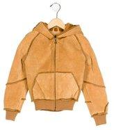 UGG Boys' Suede Hooded Jacket