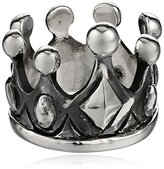 King Baby Studio Sterling Silver Crown Ring, Size 7