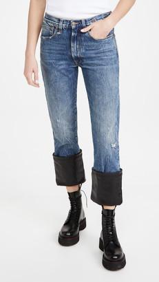 R 13 Axl Slim Jeans W/ Cuff