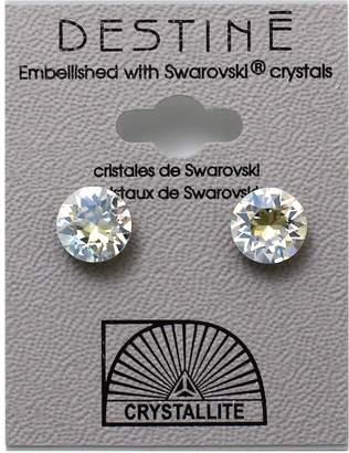 Crystallite Destine Earring Moonlight Diamond Cut 8mm