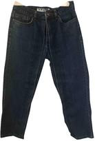 Aalto Blue Cotton Jeans for Women