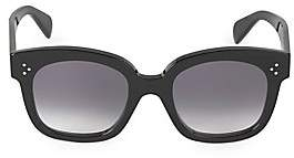 Celine Women's 54MM Square Plastic Sunglasses