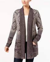 Style&Co. Style & Co Patchwork Cardigan, Created for Macy's