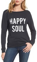 South Parade Women's Happy Soul Long Sleeve Tee