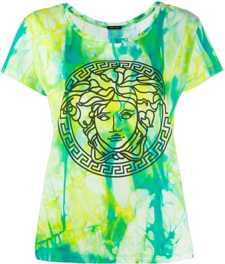 Versace tie-dye Medusa T-shirt