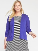 Old Navy Short Plus-Size Open-Front Cardi