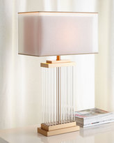 Interlude Annika Rectangular Lamp