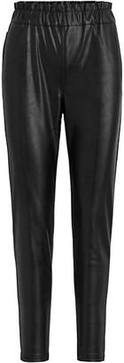 Joe's Jeans Paperbag Faux Leather Pants