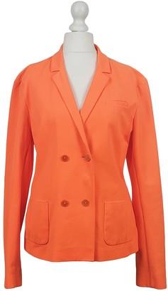 Jil Sander Orange Synthetic Jackets