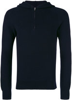 Maison Margiela fitted hooded sweatshirt - men - Wool - S
