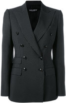 Dolce & Gabbana double-breasted jacket - women - Cupro/Virgin Wool - 40