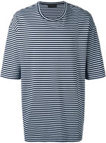 Diesel Black Gold Taitan Stripe T-shirt - men - Cotton - S